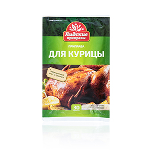 For chicken, 30 г