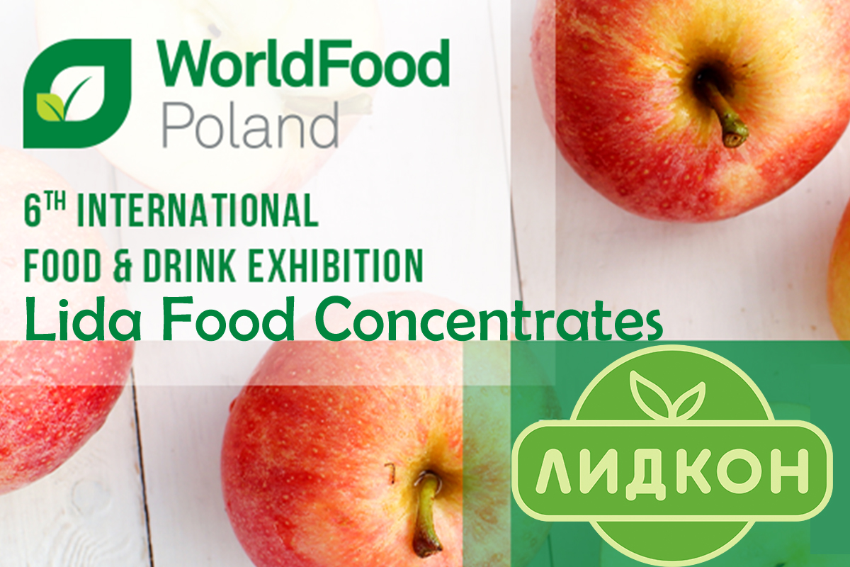 "Lidkon at the Exhibition ""WorldFood Poland 2019"""